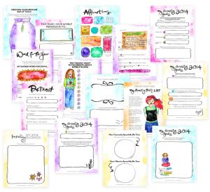 Leonie Amazing Life Biz Workbooks - sneak preview