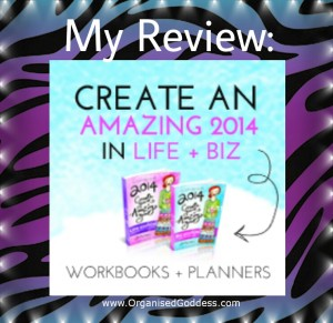 My Review - Leonie Dawson's 2014 Amazing Life and Business workbooks