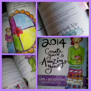 Nikki's pictures of Leonie's workbook 2014